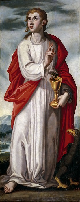 Pacheco, Francisco -- San Juan Evangelista. Part 3 Prado Museum