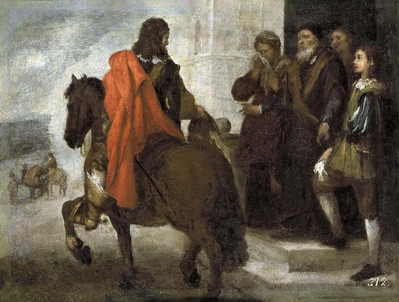 Murillo, Bartolomé Esteban -- La despedida del hijo pródigo. Part 3 Prado Museum
