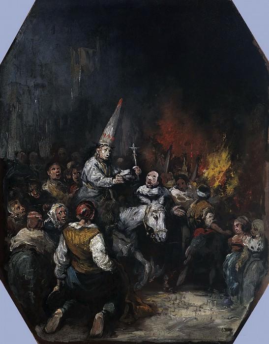 Lucas Velázquez, Eugenio -- Condenado por la Inquisición. Part 3 Prado Museum
