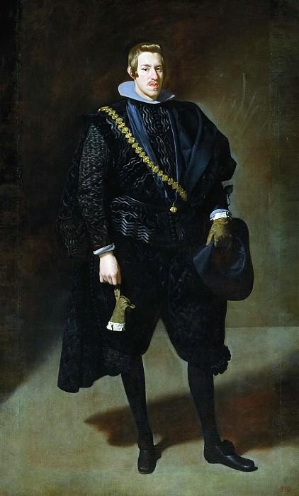 Веласкес, Диего Родригес де Сильва и -- Портрет инфанта Карла Австрийского. Часть 3 Музей Прадо