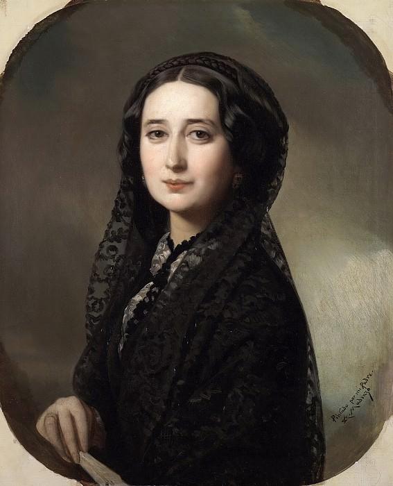 Madrazo y Kuntz, Federico de -- Carolina Coronado. Part 3 Prado Museum