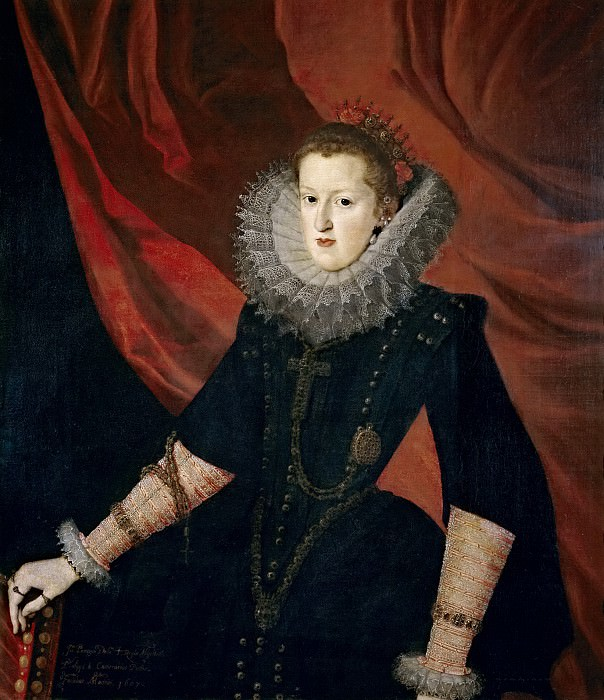 Pantoja de la Cruz, Juan -- Margarita de Austria, reina de España. Part 3 Prado Museum