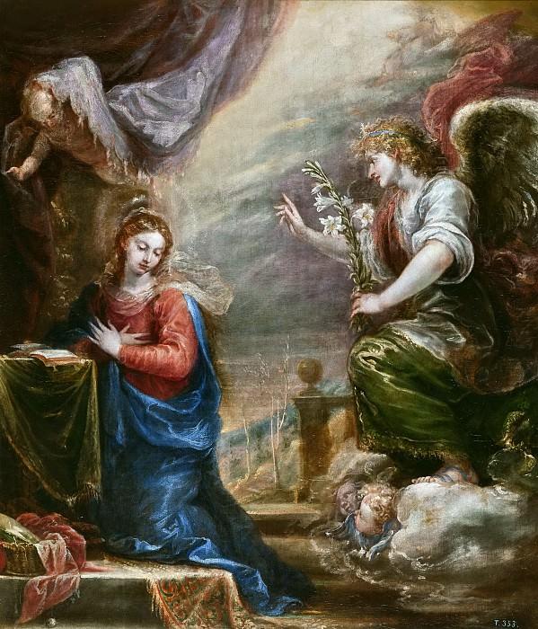Rizi, Francisco -- La Anunciación. Part 3 Prado Museum