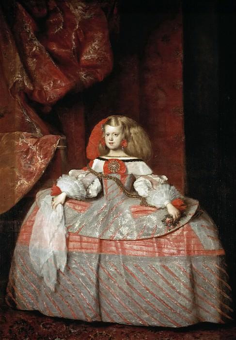 Martínez del Mazo, Juan Bautista -- La infanta Margarita de Austria. Part 3 Prado Museum