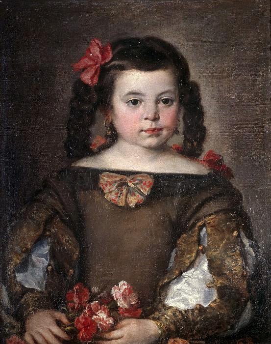 Антолинес, Клаудио Хосе Висенте -- Портрет девочки. Часть 3 Музей Прадо