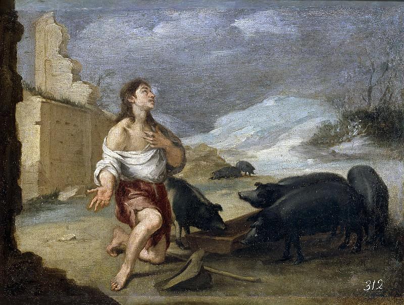 Мурильо, Бартоломе Эстебан -- Блудный сын в нищите. Часть 3 Музей Прадо