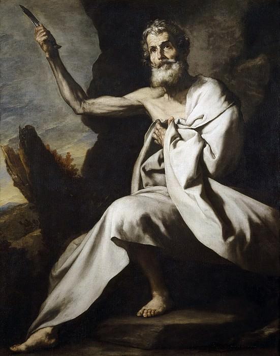 Ribera, José de -- San Bartolomé. Part 3 Prado Museum