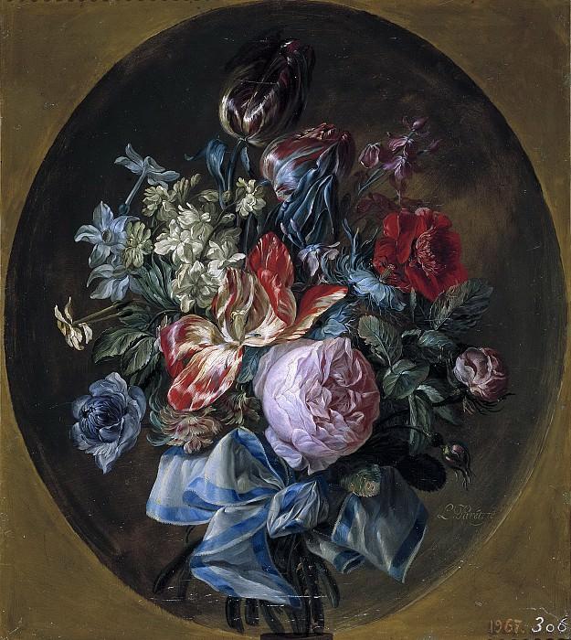 Paret y Alcázar, Luis -- Ramillete de flores. Part 3 Prado Museum