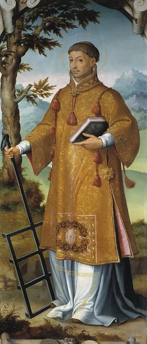 Корреа де Вивар, Хуан -- Святой Лаврентий. Часть 3 Музей Прадо