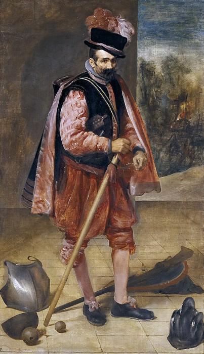 Velázquez, Diego Rodríguez de Silva y -- El bufón llamado don Juan de Austria. Part 3 Prado Museum