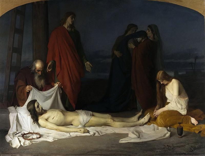 Valdivieso y Henarejos, Domingo -- El Descendimiento. Part 3 Prado Museum