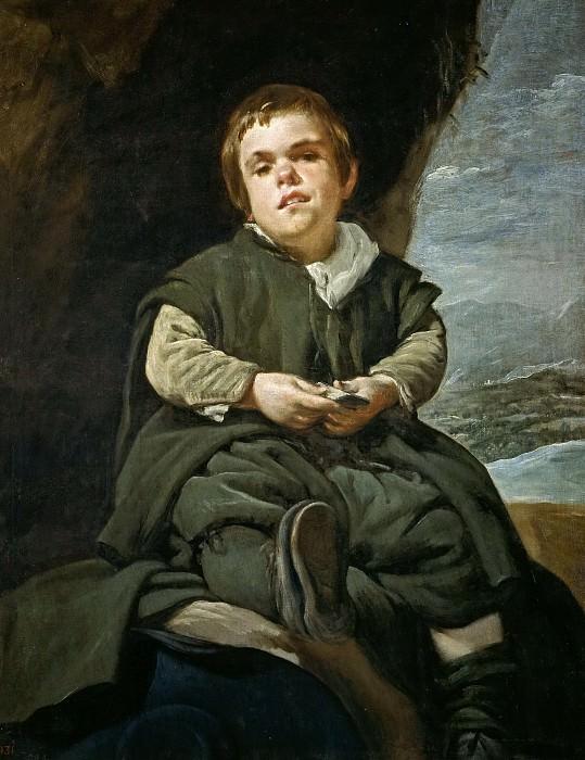Velázquez, Diego Rodríguez de Silva y -- Francisco Lezcano, el Niño de Vallecas. Part 3 Prado Museum