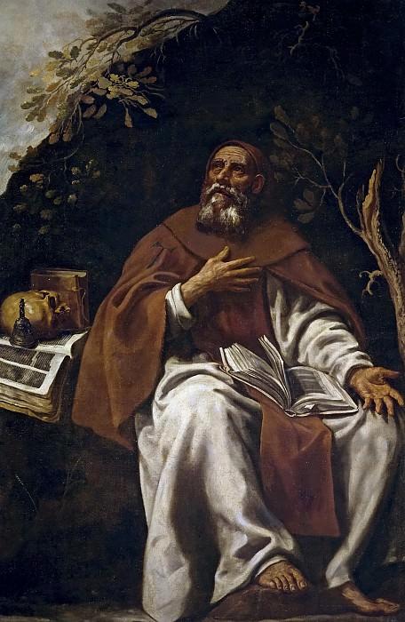 Tristán, Luis -- San Antonio Abad. Part 3 Prado Museum