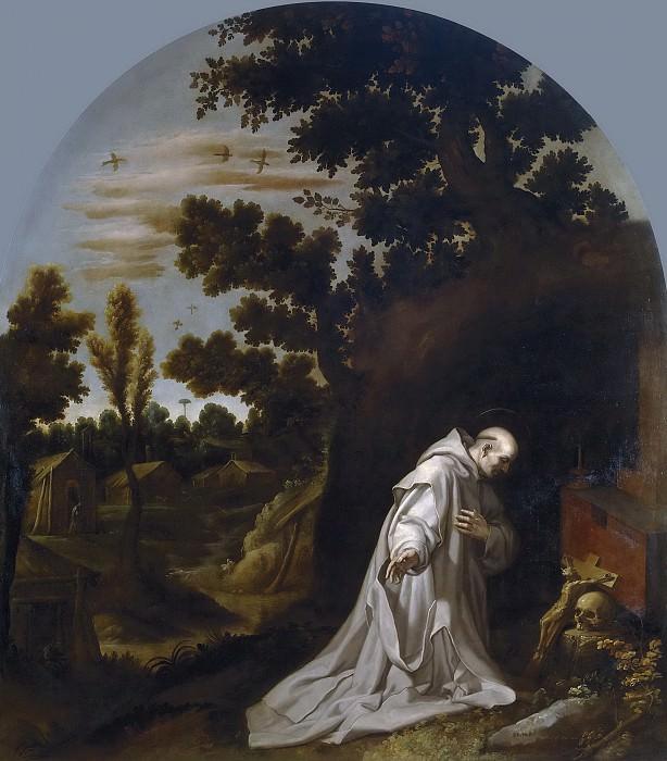 Carducho, Vicente -- San Bruno reza en La Torre, Calabria. Part 3 Prado Museum