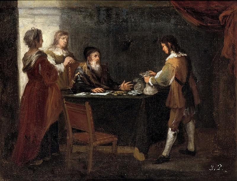 Murillo, Bartolomé Esteban -- El hijo pródigo recoge su legítima. Part 3 Prado Museum