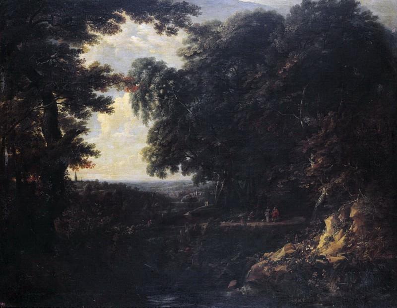 Arthois, Jacques d -- Paisaje. Part 3 Prado Museum