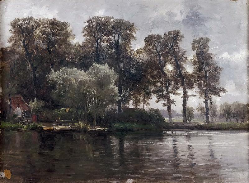 Хаэс, Карлос де -- Канал в Голландии. Часть 3 Музей Прадо