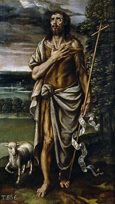 Лоарте, Алехандро де (приписывается) -- Иоанн Креститель. Часть 3 Музей Прадо