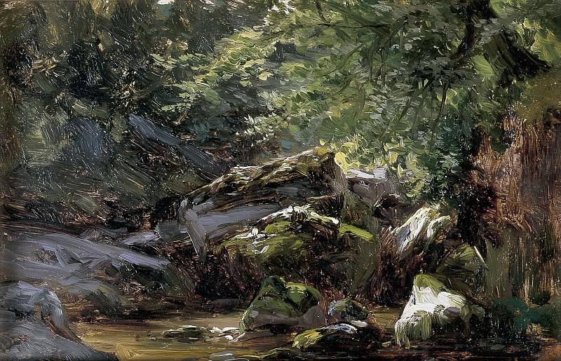 Хаэс, Карлос де -- Скалы (Альсасуа). Часть 3 Музей Прадо