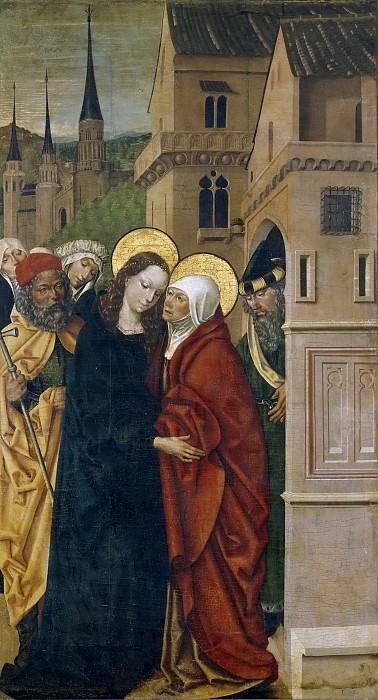 Мастер Сисла -- Встреча Марии и Елизаветы. Часть 3 Музей Прадо