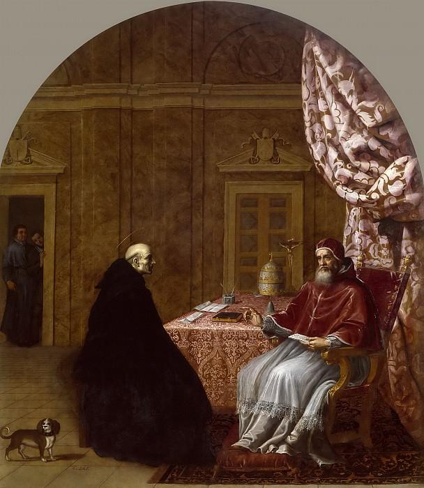 Кардучо, Висенте -- Урбан II и святой Бруно. Часть 3 Музей Прадо