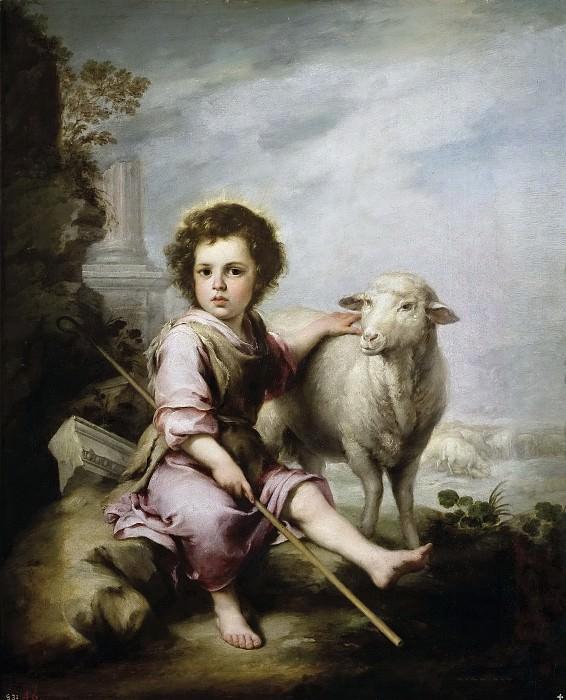 Мурильо, Бартоломе Эстебан -- Добрый Пастырь. Часть 3 Музей Прадо
