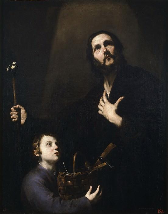 Ribera, José de -- San José y el Niño Jesús. Part 3 Prado Museum
