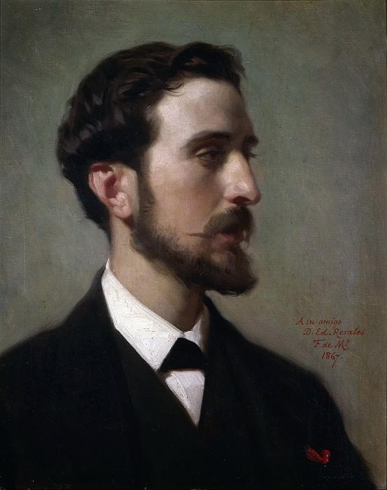 Madrazo y Kuntz, Federico de -- El pintor Eduardo Rosales. Part 3 Prado Museum