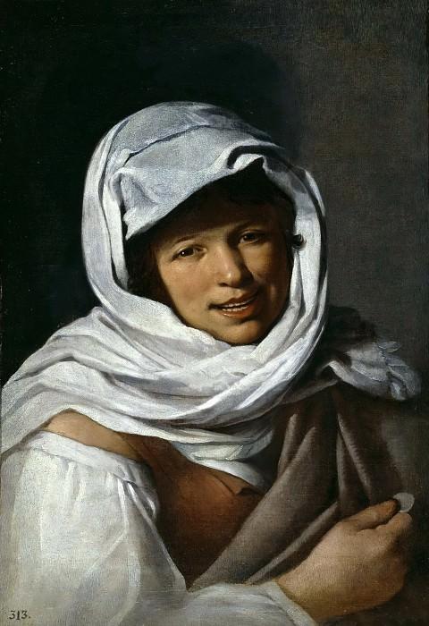 Anónimo (Discípulo de Murillo, Bartolomé Esteban) -- La gallega de la moneda. Part 3 Prado Museum