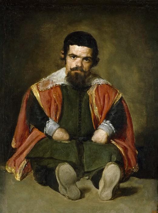 Velázquez, Diego Rodríguez de Silva y -- El bufón don Sebastián de Morra. Part 3 Prado Museum