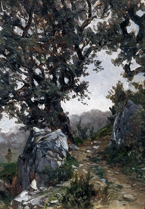 Haes, Carlos de -- Sendero (Aranzazu). Part 3 Prado Museum
