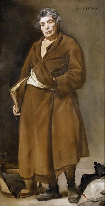 Веласкес, Диего Родригес де Сильва и -- Эзоп. Часть 3 Музей Прадо