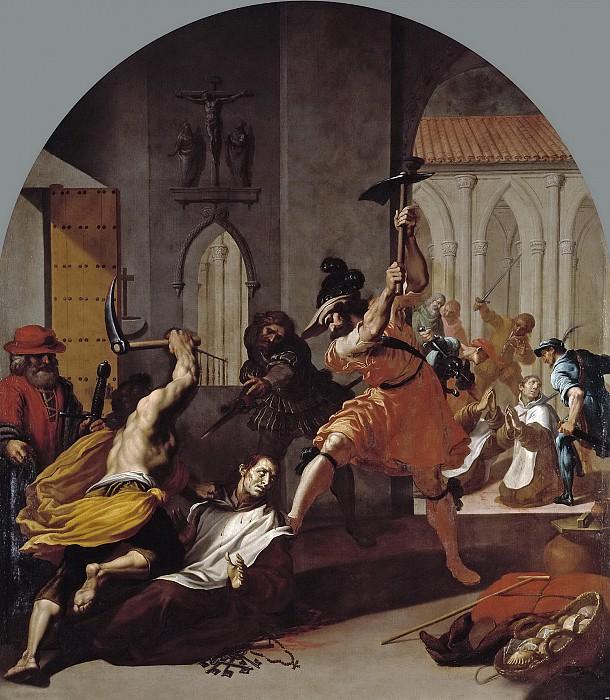 Carducho, Vicente -- El martirio de los cartujos de Roermond. Part 3 Prado Museum