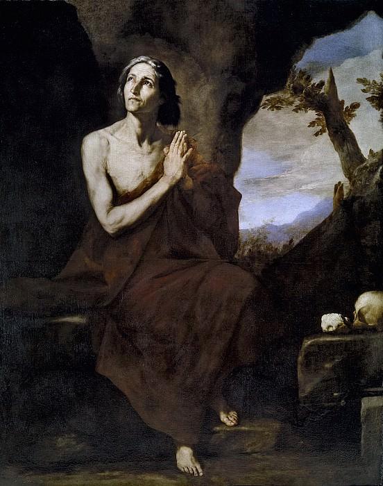 Ribera, José de -- Santa María Egipciaca. Part 3 Prado Museum