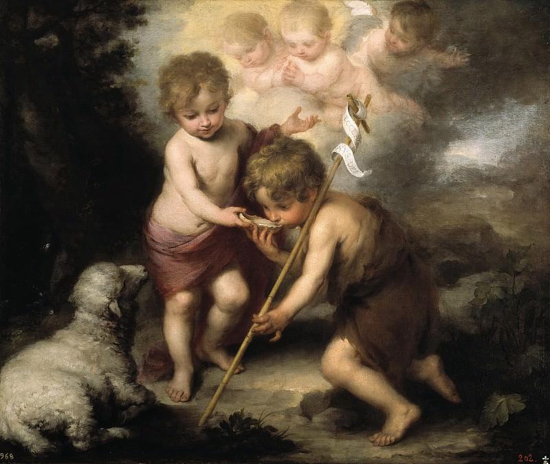 Мурильо, Бартоломе Эстебан -- Святые Дети с раковиной. Часть 3 Музей Прадо