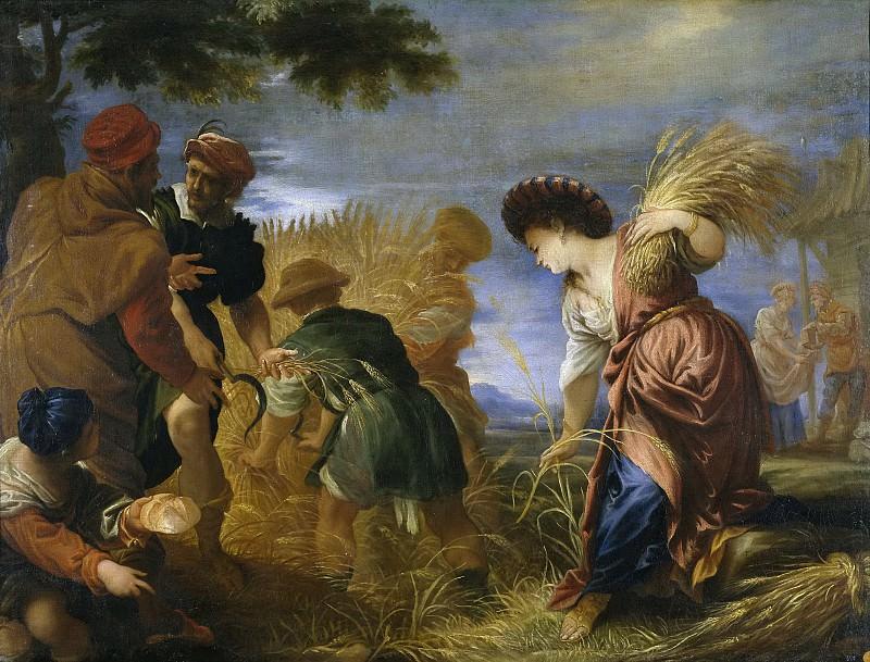 Escalante, Juan Antonio de Frías y -- Los segadores de la tierra de promisión. Part 3 Prado Museum