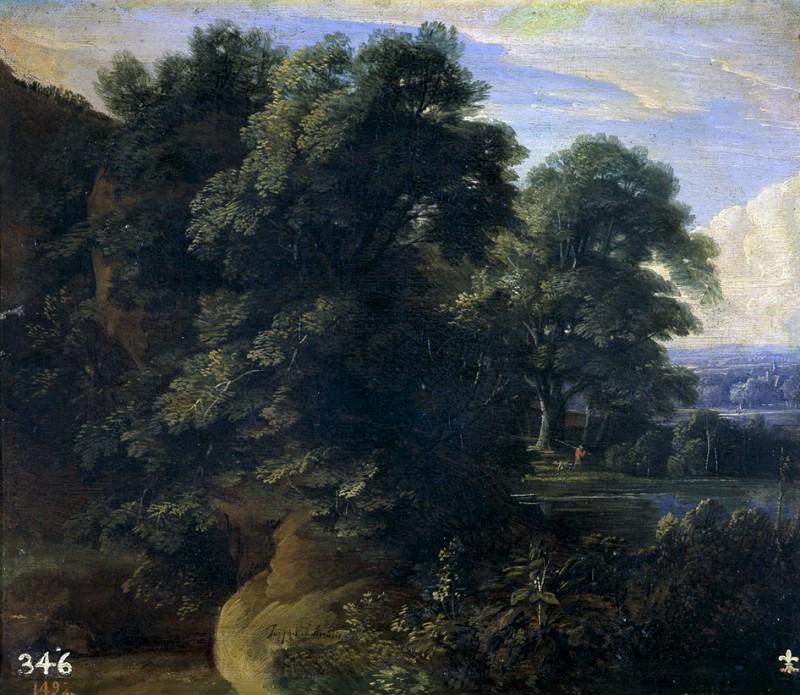 Arthois, Jacques d -- Paisaje con un lago. Part 3 Prado Museum