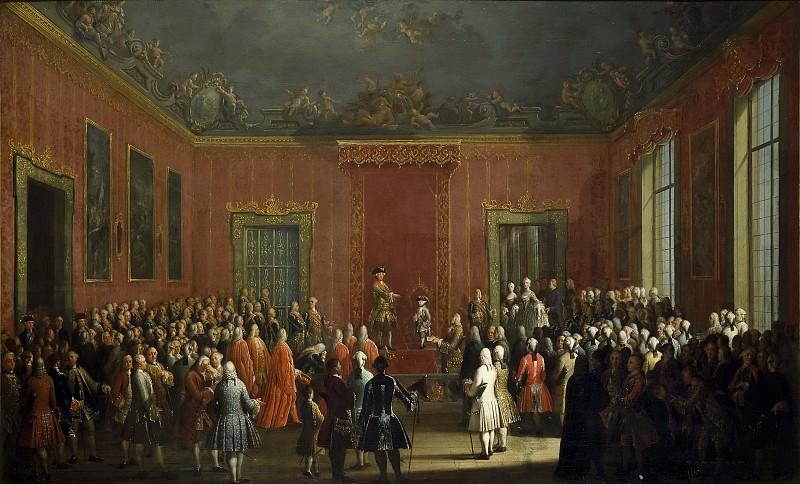 Joli, Antonio -- Abdicación de Carlos III. Part 3 Prado Museum