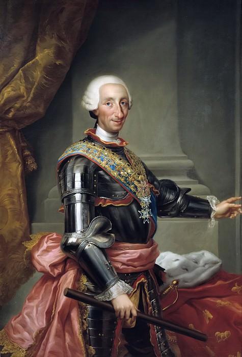 Mengs, Anton Rafael -- Carlos III. Part 3 Prado Museum