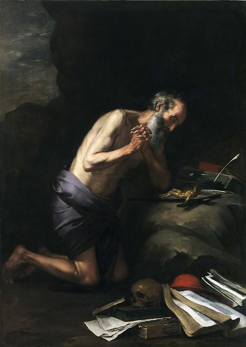 Murillo, Bartolomé Esteban -- San Jerónimo. Part 3 Prado Museum
