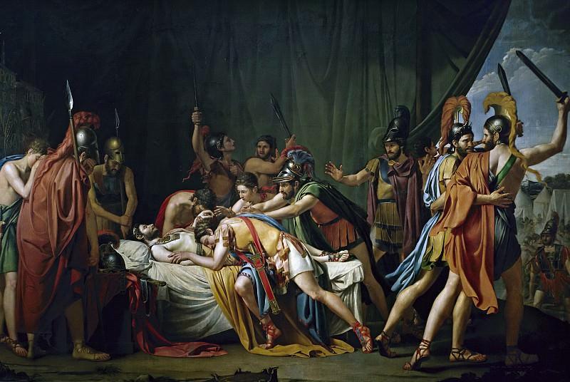 Madrazo y Agudo, José de -- La muerte de Viriato, jefe de los lusitanos. Part 3 Prado Museum