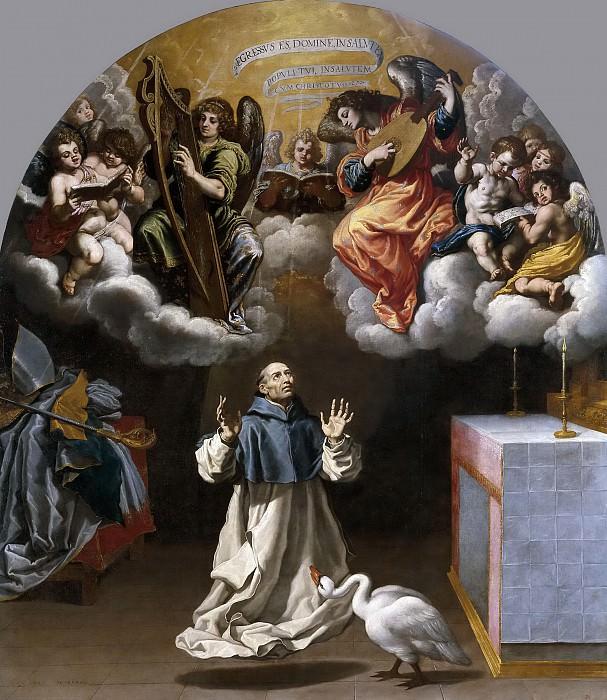 Кардучо, Висенте -- Видение святому Югу музыцирующих ангелов. Часть 3 Музей Прадо