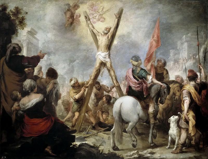 Murillo, Bartolomé Esteban -- El martirio de San Andrés. Part 3 Prado Museum