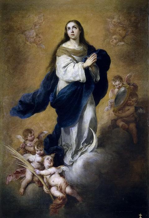 Murillo, Bartolomé Esteban -- La Inmaculada Concepción. Part 3 Prado Museum