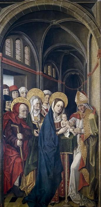 Maestro de la Sisla -- La Circuncisión. Part 3 Prado Museum