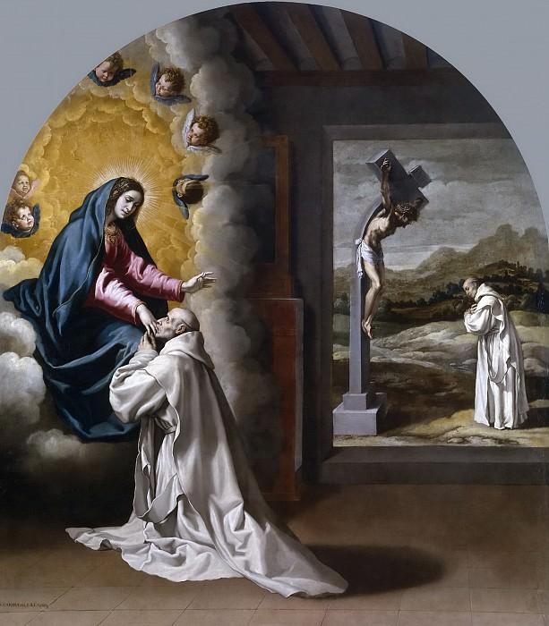 Carducho, Vicente -- La Virgen se aparece a Juan Fort. Part 3 Prado Museum