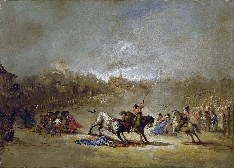 Lucas Velázquez, Eugenio -- La suerte de varas. Part 3 Prado Museum