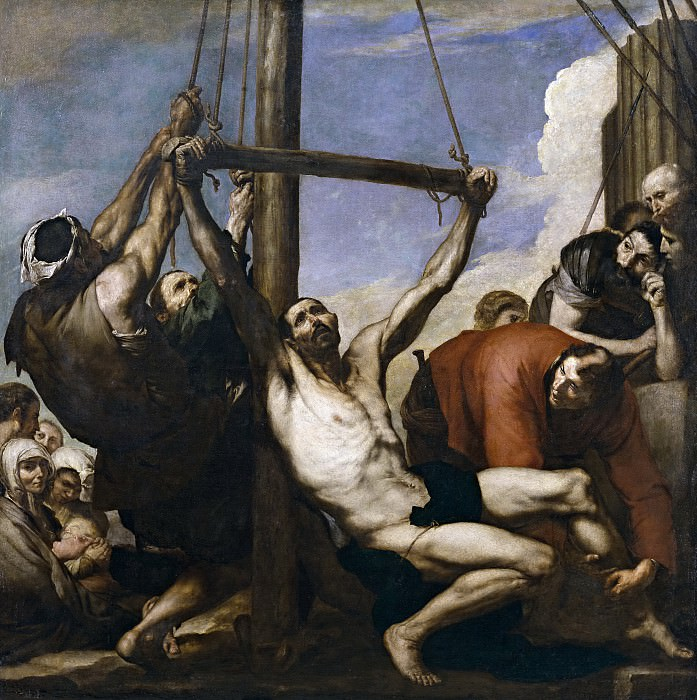 Ribera, José de -- Martirio de San Felipe. Part 3 Prado Museum