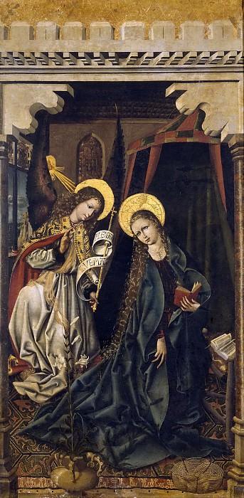Maestro de la Sisla -- La Anunciación. Part 3 Prado Museum