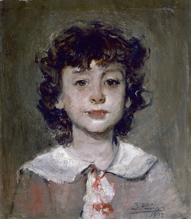 Pinazo Camarlench, Ignacio -- Ignacio, hijo del artista. Part 3 Prado Museum